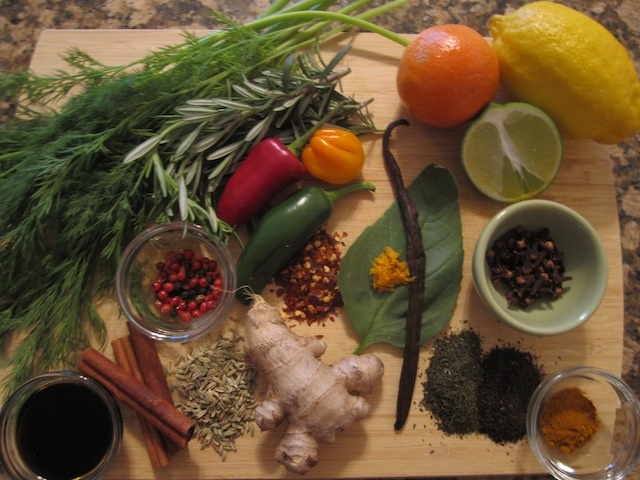 Just some of the slimming & satiating seasonings used in the S.A.S.S! Yourself Slim plan, yum!
