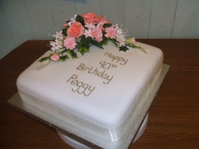 90th birthday cake New Cake Ideas 90th Birthday Cake ...