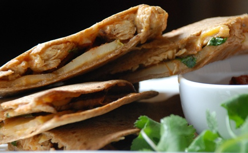 chicken apple quesadilla | Eats | Pinterest