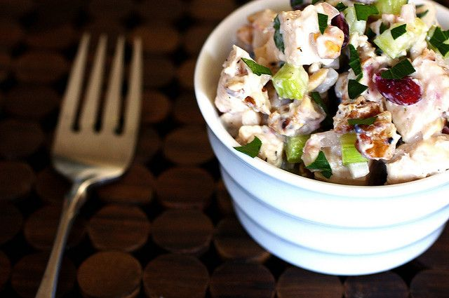 Cranberry Walnut Chicken Salad has it all—tang, crunch, sweet and ...