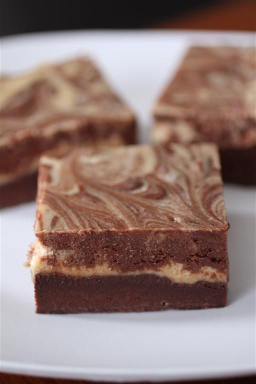 Peanut Butter Chocolate Cheesecake Brownies
