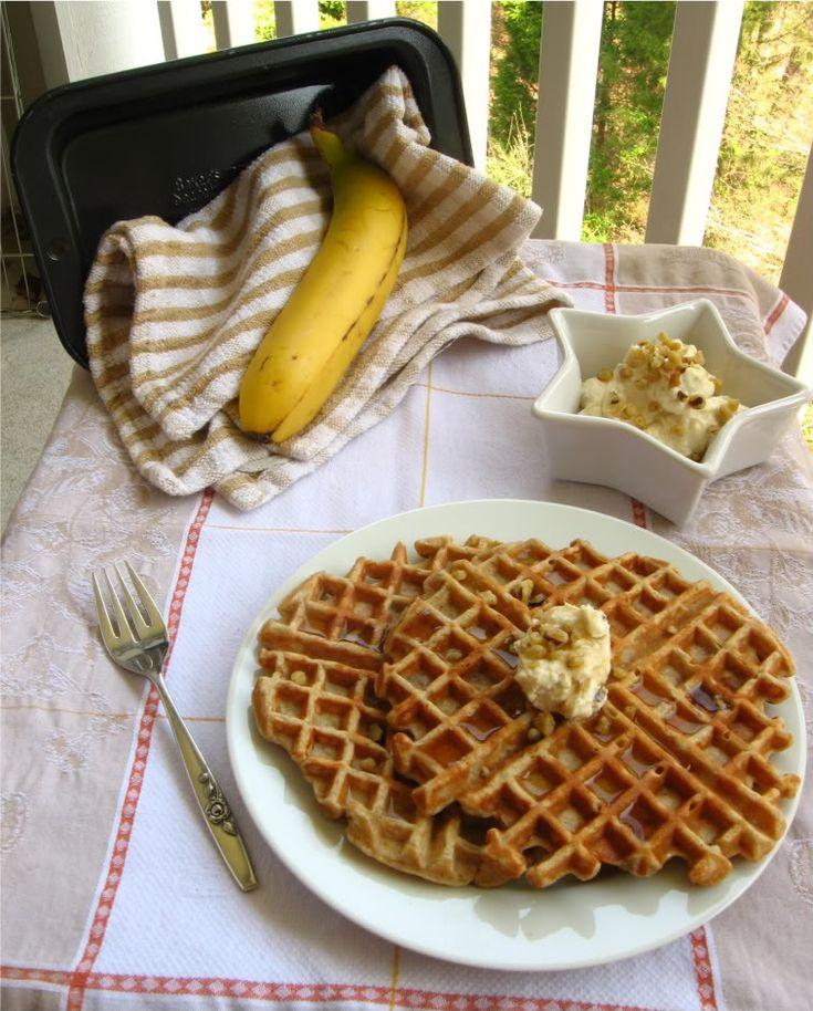 Banana Nut Bread Waffles | Favorite Recipes | Pinterest
