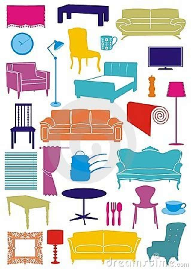House Furniture Clipart Pinterest