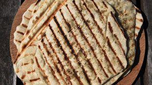 Grilled Lebanese Flatbread by Mark Bittman