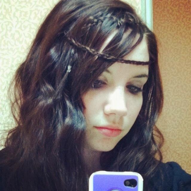 pretty tiara braid