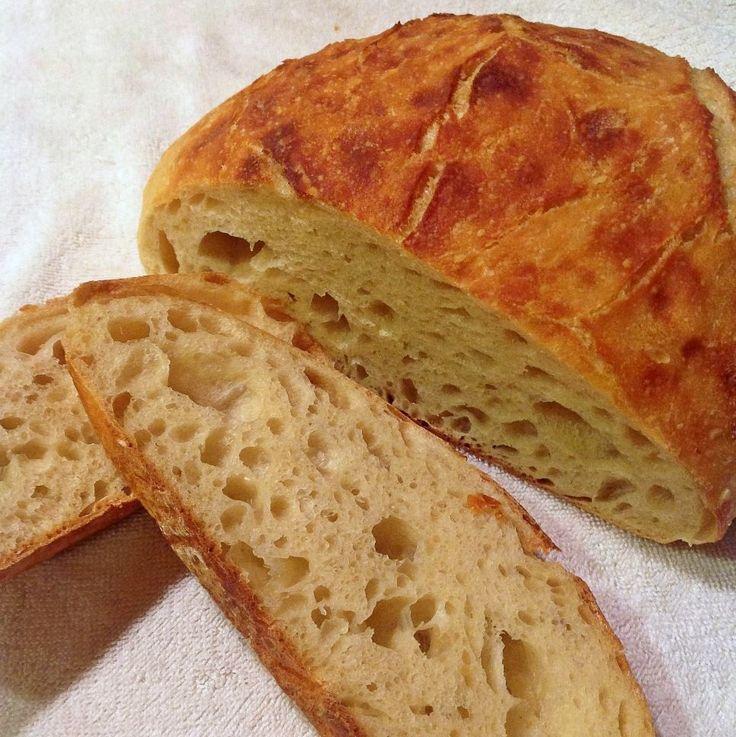 Kaylen's Bread - Basic Sourdough Bread