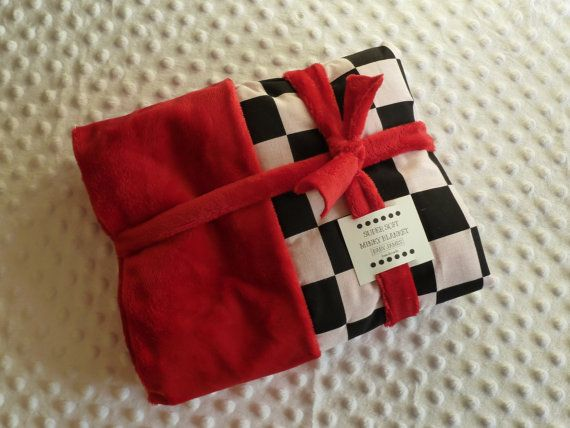 red checkered flag