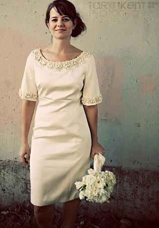 Short wedding dress weddings for women over 40 pinterest for Wedding dresses women over 40