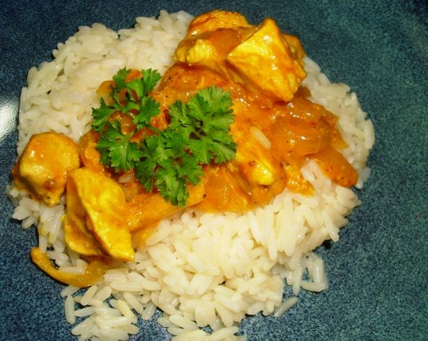 Chicken Curry in a Hurry (could substitute veggies for chicken)