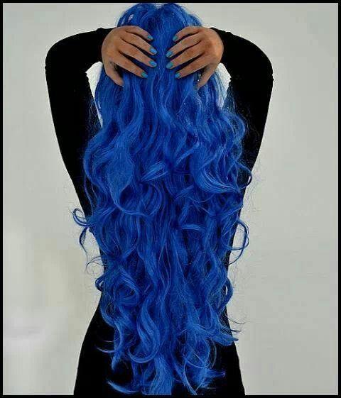electric blue hair colors pinterest. Black Bedroom Furniture Sets. Home Design Ideas