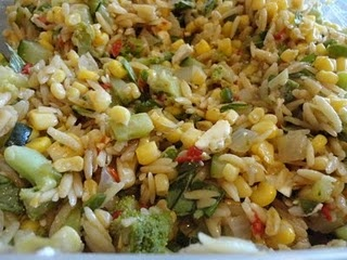 and radishes southwestern orzo salad greek orzo salad orzo super salad ...