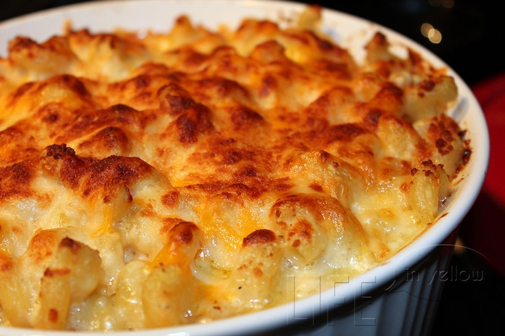 Mac And Cheese With Roasted Chicken, Goat Cheese, And Rosemary