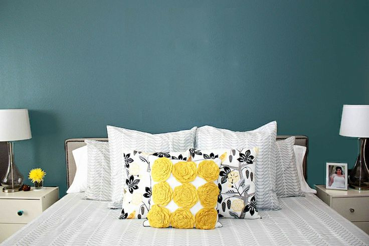 gallery for turquoise and gray bedroom