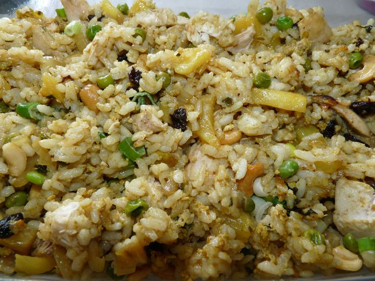 Thai Pineapple Fried Rice | Food for thought | Pinterest