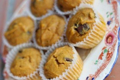 Chocolate Chunk Pumpkin Spice Muffins | Tasty Kitchen: A Happy Recipe ...