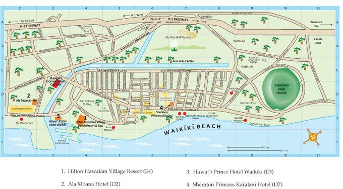 Gay beach waikiki map