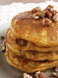 sweet potato pie pancakes for one | pancakes and waffles | Pinterest