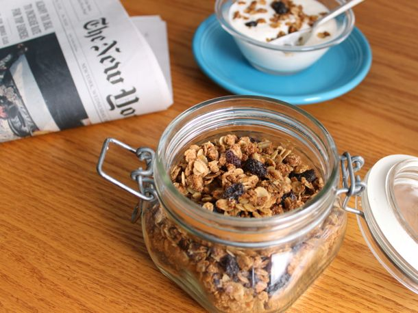 Gluten-Free Almond Maple Granola | food ideas and recipes | Pinterest