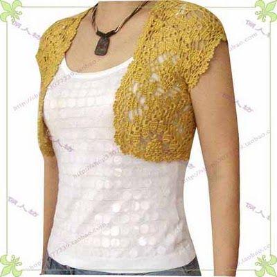 Crochet Bolero - Free Pattern