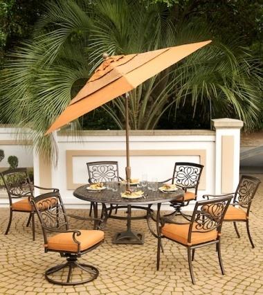Agio Vista Dining Set Patio Furniture