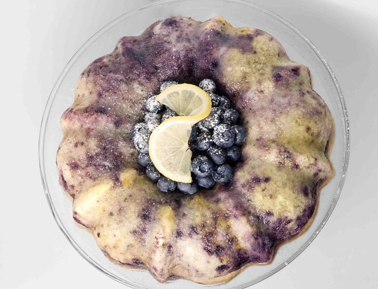 Easy Blueberry Lemon Bundt | Desserts | Pinterest