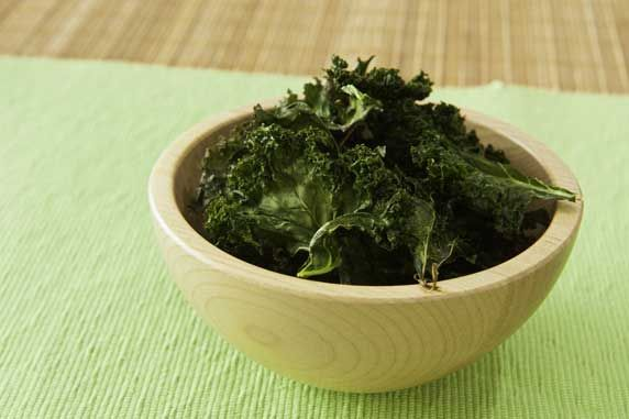 Kale Chips with Sesame and Lemon Zest | Dark Leafy Green Dishes | Pin ...
