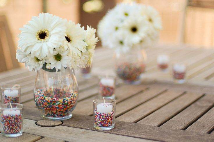 Sprinkle Centerpiece