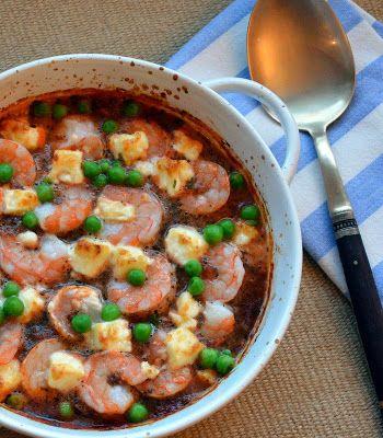 15 Minute Greek Baked Shrimp with Feta | Food Med-Pleasure. | Pintere ...