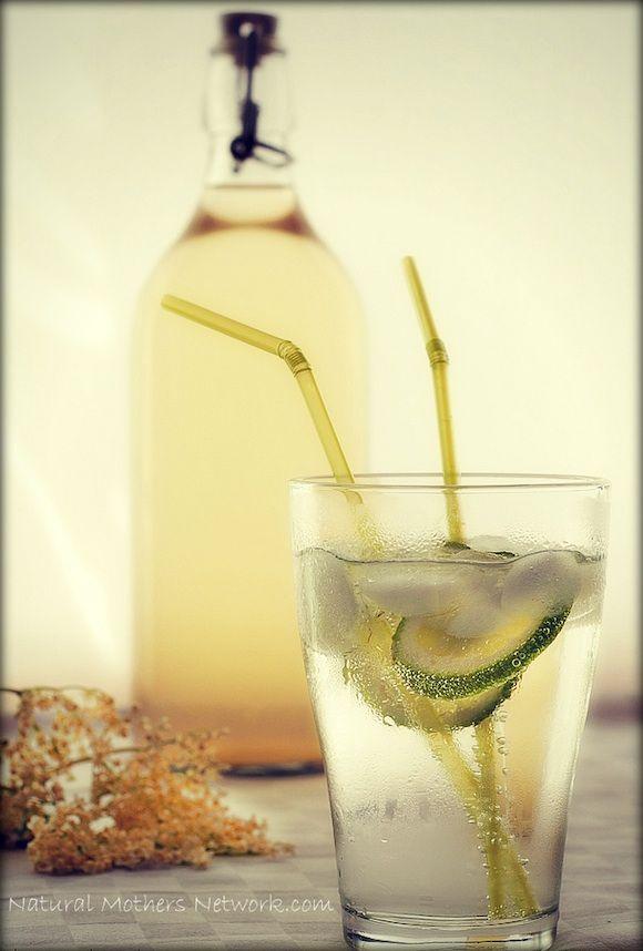 Elderflower Cordial | Natural Remedies | Pinterest