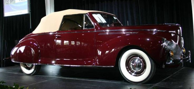 1940 lincoln zephyr convertible coupe love old cars. Black Bedroom Furniture Sets. Home Design Ideas