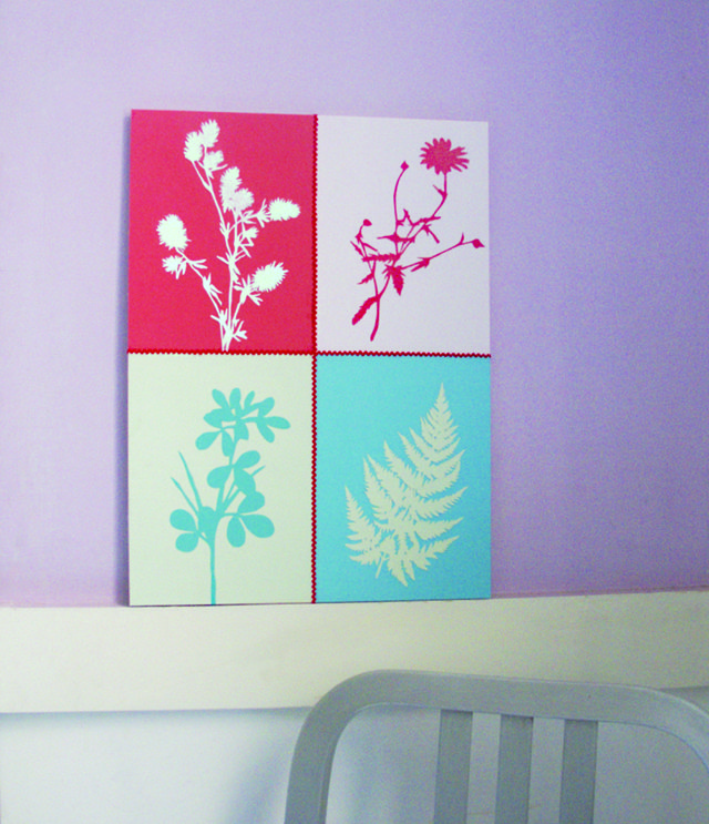 Diy Flower Art For Bathroom Or Bedroom Home Wall Art Pinterest
