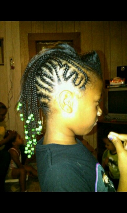 Braided Mohawk Hairstyles For Little Girls Womentrendingcom Picture