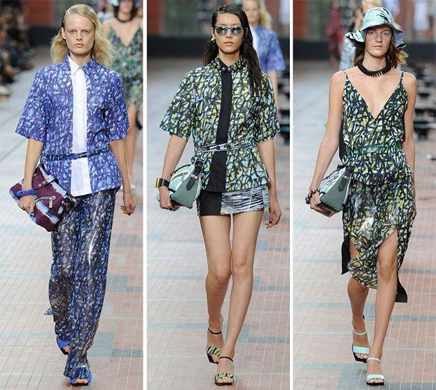 Kenzo spring / summer rtw - paris fashion week