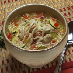 Hearty Chicken Vegetable Soup | Food | Pinterest