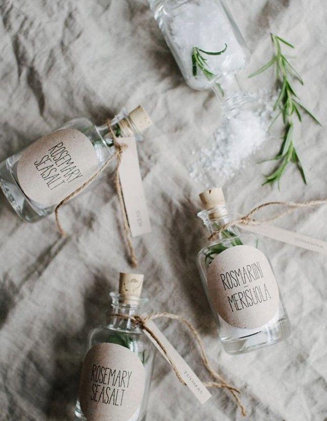 sel parfumé cadeau mariage
