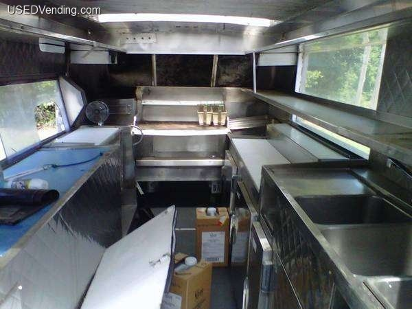 Food truck kitchen food truck design interiors pinterest for Food truck interior design