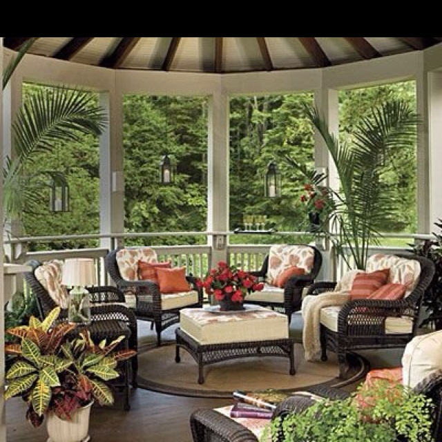 back porch ideas casual cottage