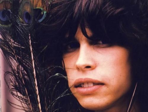 A young Steven Tyler  ...