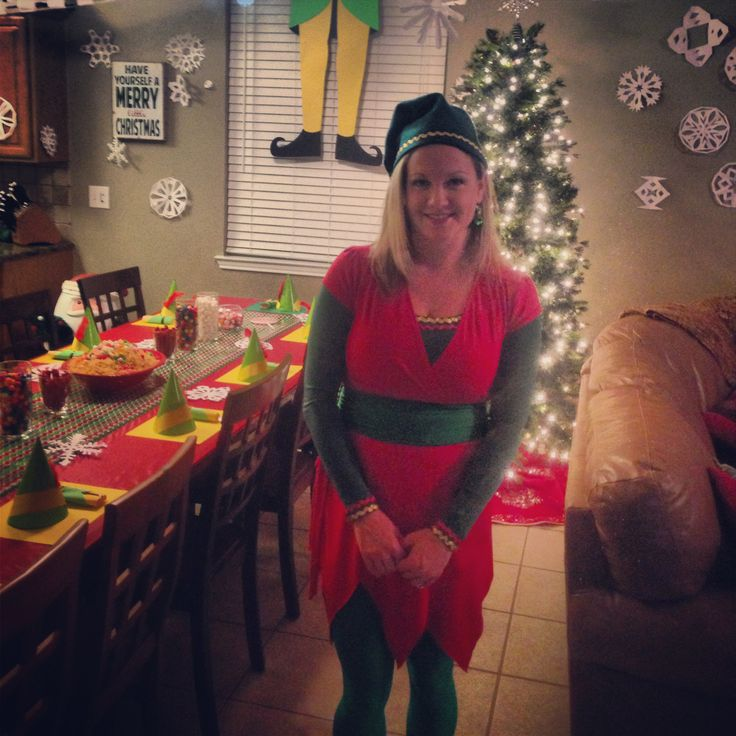 Pin By Debbie Borgmann On My Ideas Pinterest  sc 1 st  Meningrey & Jovie The Elf Costume - Meningrey