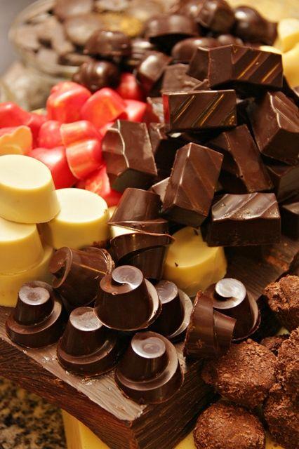 Self-made Belgian Chocolate Pralines