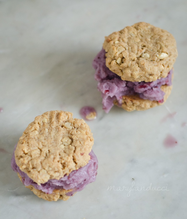... Living}: Week of Love: Peanut Butter and Jelly Ice Cream Sandwiches