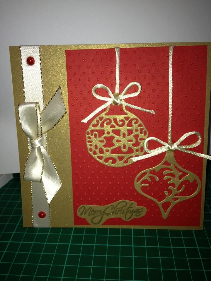 Handmade christmas card christmas cards handmade ideas pinterest for Christmas card ideas on pinterest