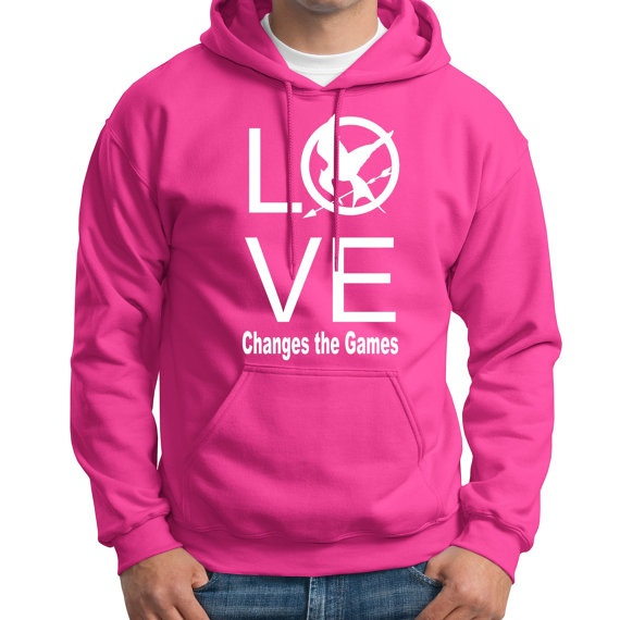 LOVE Changes the Games hoodie :: Jenni of MajaBoutique