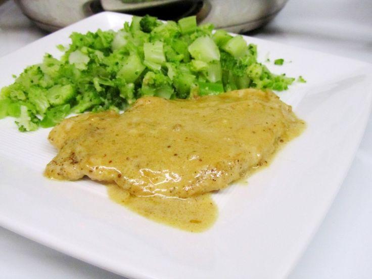 Chicken with Mustard Cream Sauce | recipes CHICKEN | Pinterest