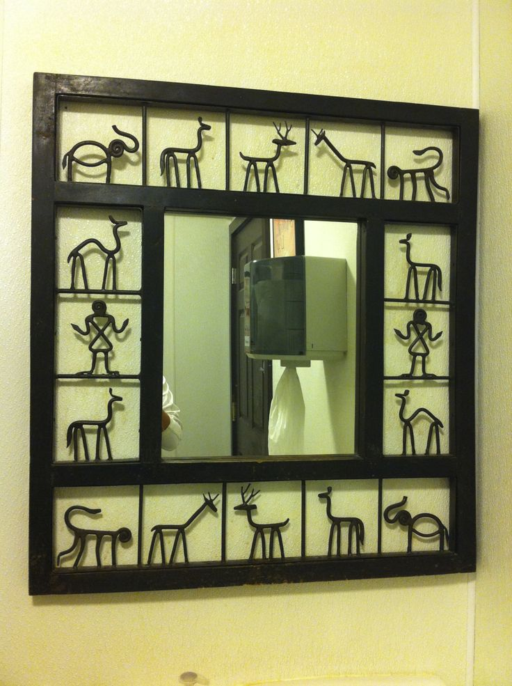 Wall Decor With Photos Pinterest : Handmade mirror frame wall decor ideas