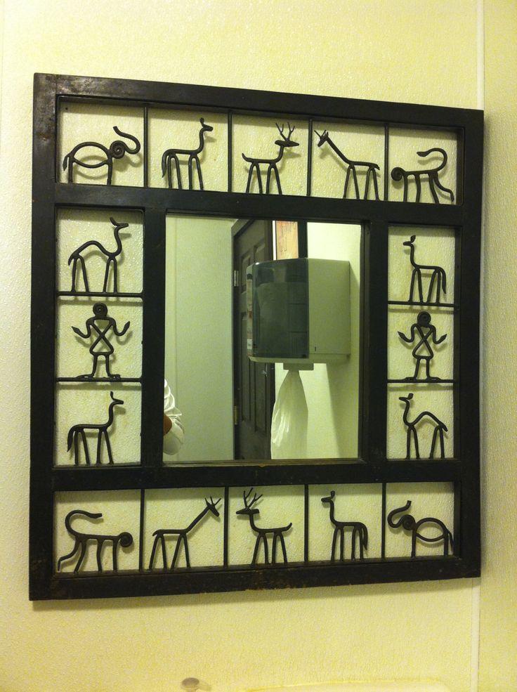 Homemade Wall Decor Ideas On Pinterest : Handmade mirror frame wall decor ideas