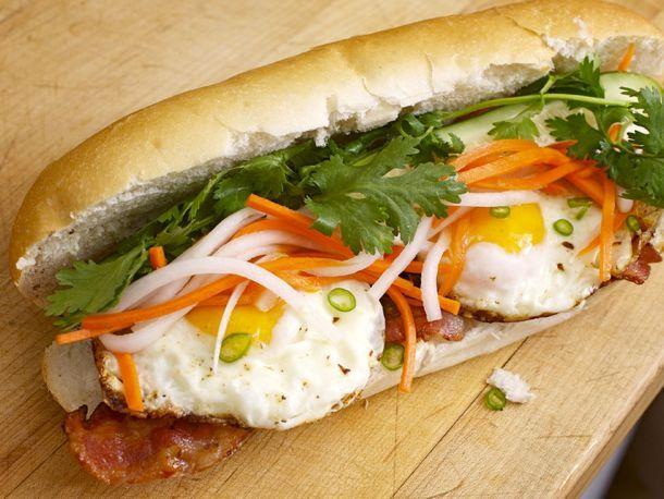 Breakfast Banh Mi | Recipe