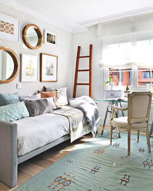 Office Guest Room Small Space Decor Pinterest