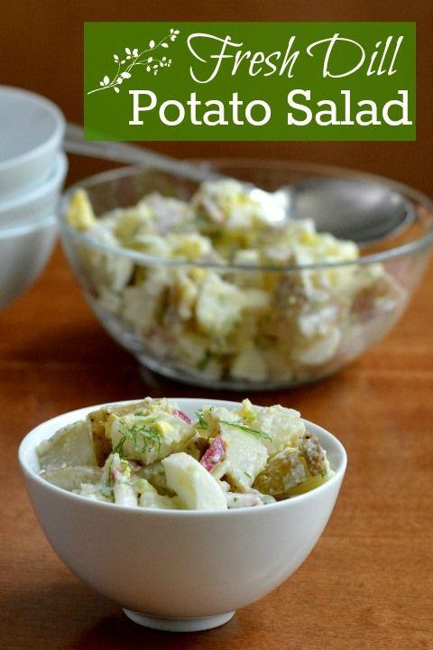 dill potato salad with yogurt arugula and dill recipes dishmaps potato ...