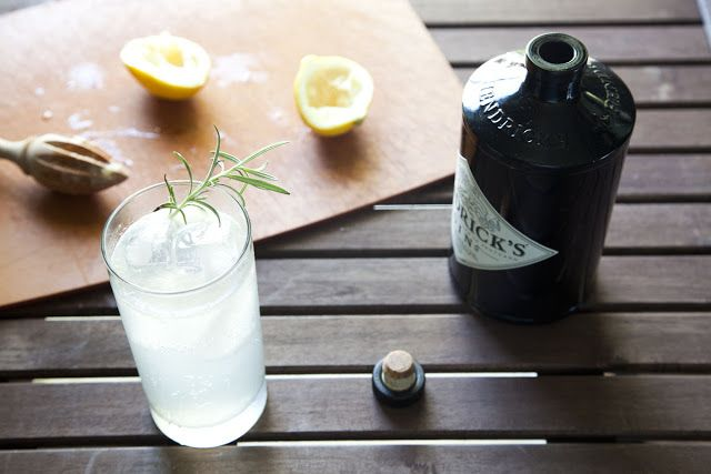 Summer Drink - Rosemary Gin Fizz. | Get in My Belly! | Pinterest